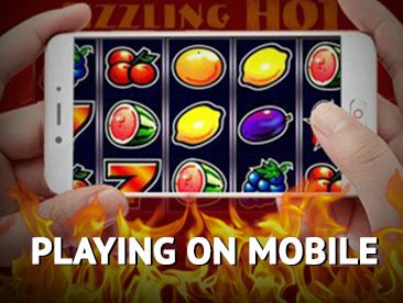 mobile version of the sizzling hot deluxe online