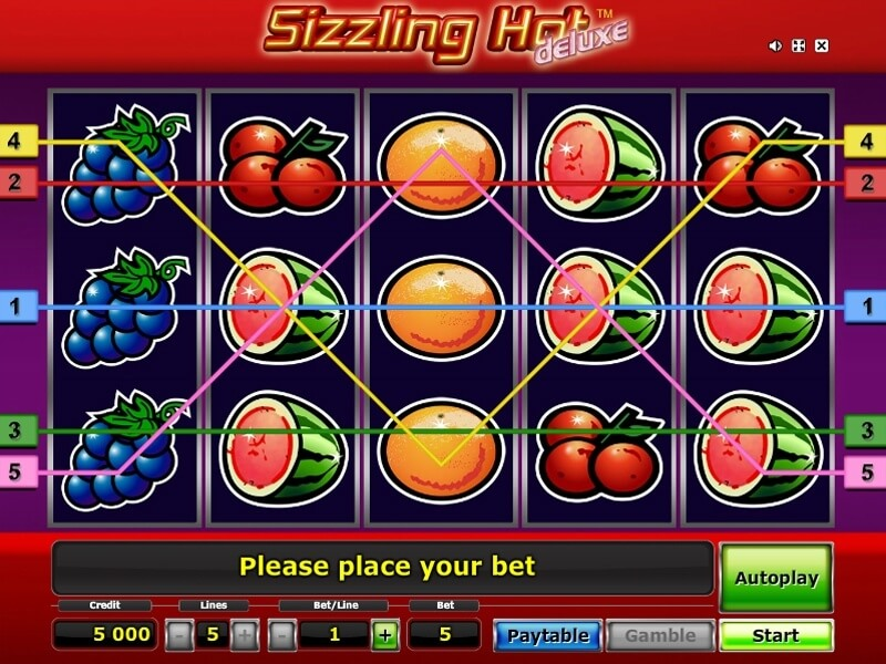 Sizzling Hot Slot Deluxe