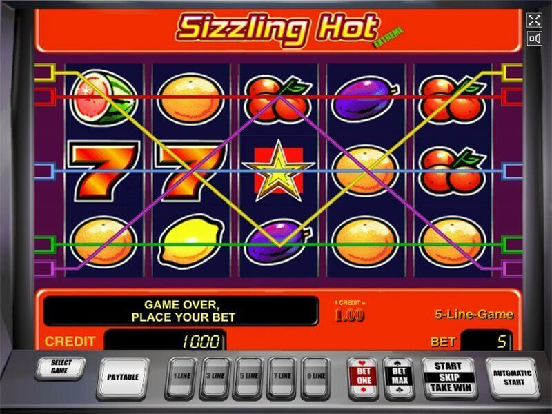 Joc Sizzling Hot Casino