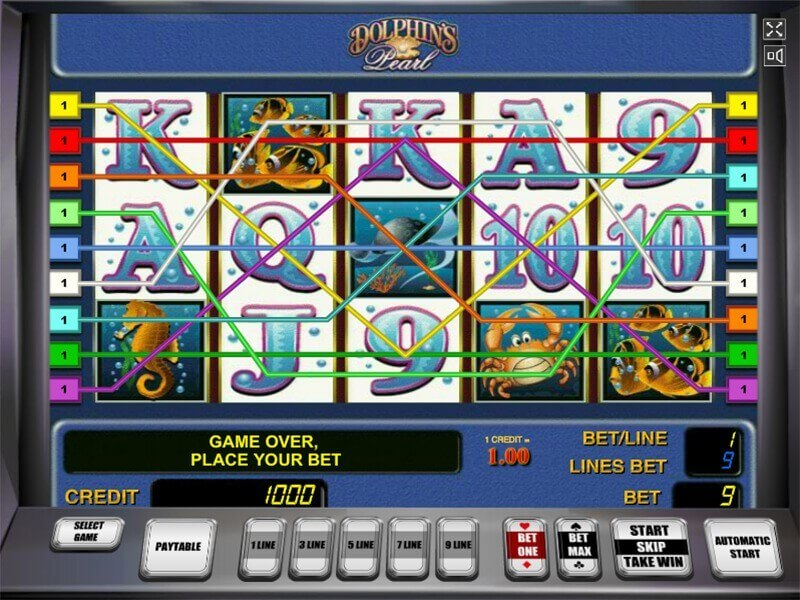 Dolphin pearl slot machine game no registration online casino