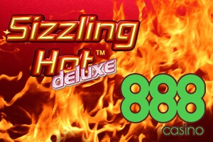 Sizzling Hot Deluxe Slot at 888casino